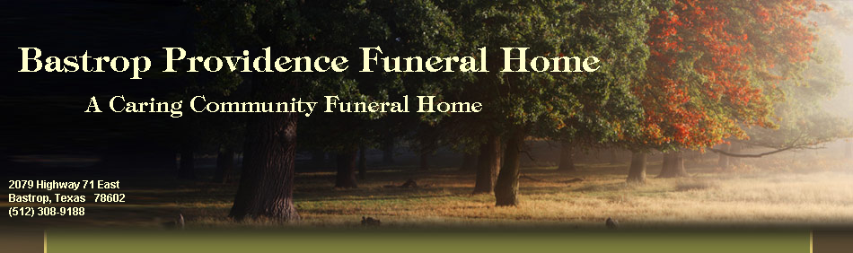 Bastrop Providence Funeral Home